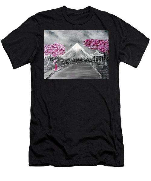 Sakura - Japanese Dreams Men's T-Shirt (Athletic Fit)