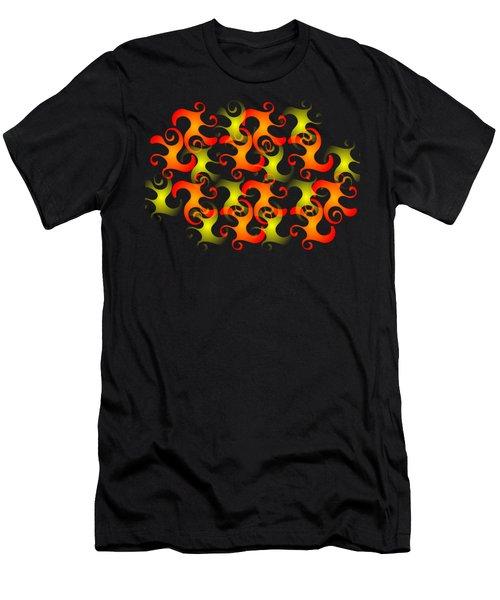 Salamanders Dream Men's T-Shirt (Slim Fit) by Anastasiya Malakhova