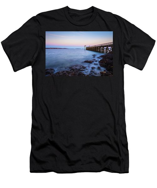 Salem Willows Sunset Men's T-Shirt (Athletic Fit)
