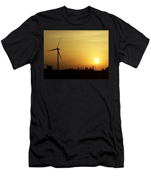 Salento Sunset Men's T-Shirt (Athletic Fit)