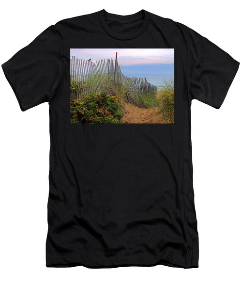 Salisbury Beach Men's T-Shirt (Athletic Fit)