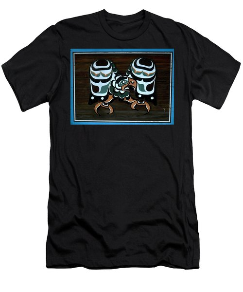 Men's T-Shirt (Athletic Fit) featuring the photograph Salish Painting by 'REA' Gallery