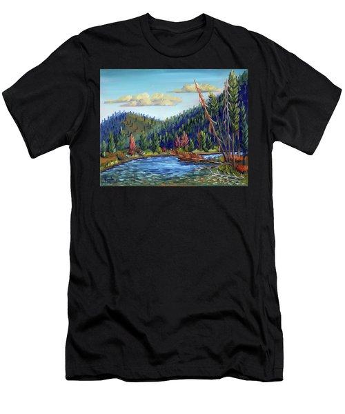 Salmon River - Stanley Men's T-Shirt (Athletic Fit)