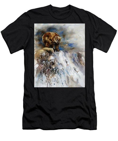 Salmon Run Men's T-Shirt (Athletic Fit)
