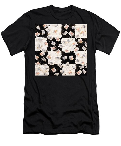 Salt And Pepper Men's T-Shirt (Slim Fit)