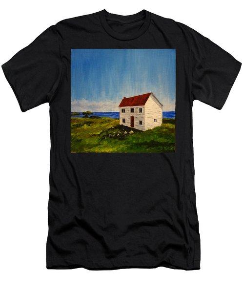 Saltbox House Men's T-Shirt (Athletic Fit)