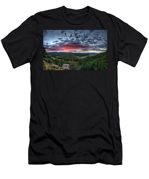 Salt Creek Sunrise Men's T-Shirt (Athletic Fit)