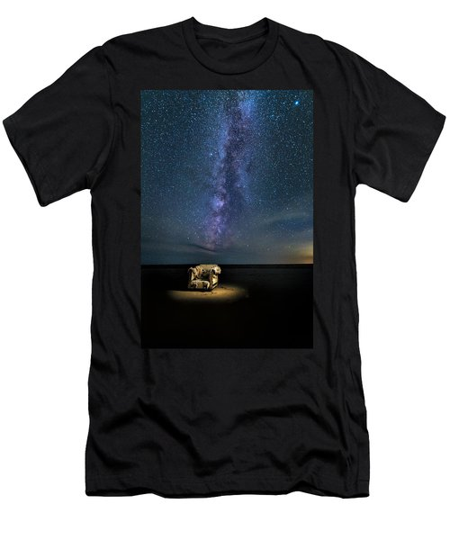 Salt Flats Milky Way Chair Men's T-Shirt (Athletic Fit)