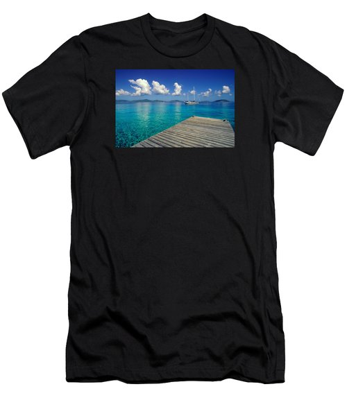 Salt Island Ancorage Men's T-Shirt (Athletic Fit)