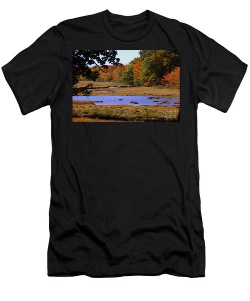 Salt Marsh River Men's T-Shirt (Athletic Fit)