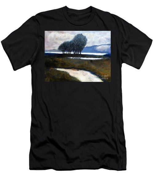 Salton Sea Trees Men's T-Shirt (Athletic Fit)