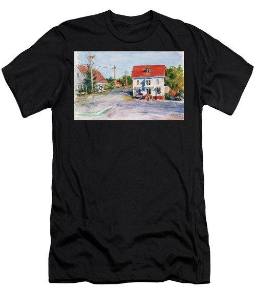 Salty Market, North Truro Men's T-Shirt (Athletic Fit)