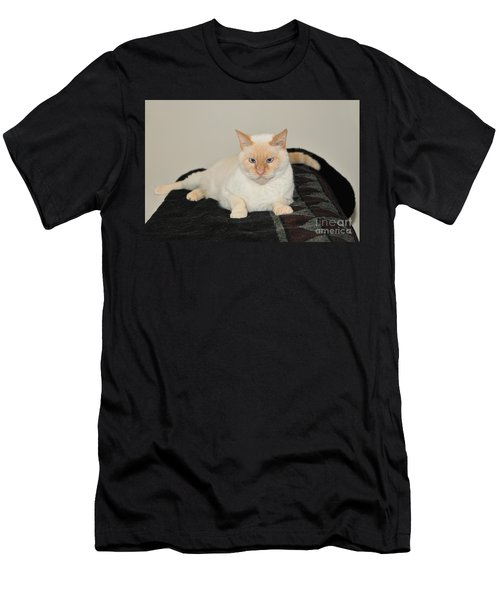 Men's T-Shirt (Slim Fit) featuring the photograph Sam I Am by Debbie Stahre