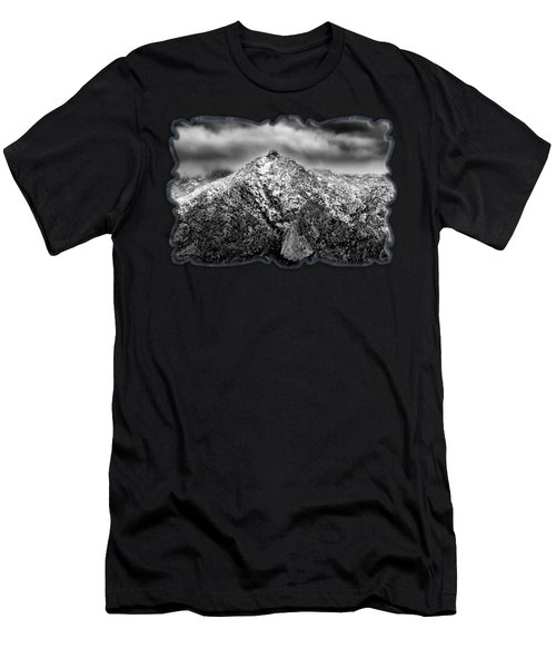 Samaniego Snow H59 Men's T-Shirt (Athletic Fit)
