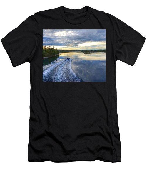 Sambro Basin II Nova Scotia Men's T-Shirt (Athletic Fit)