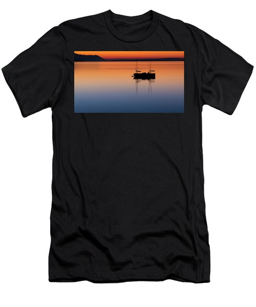 Samish Sea Sunset Men's T-Shirt (Athletic Fit)
