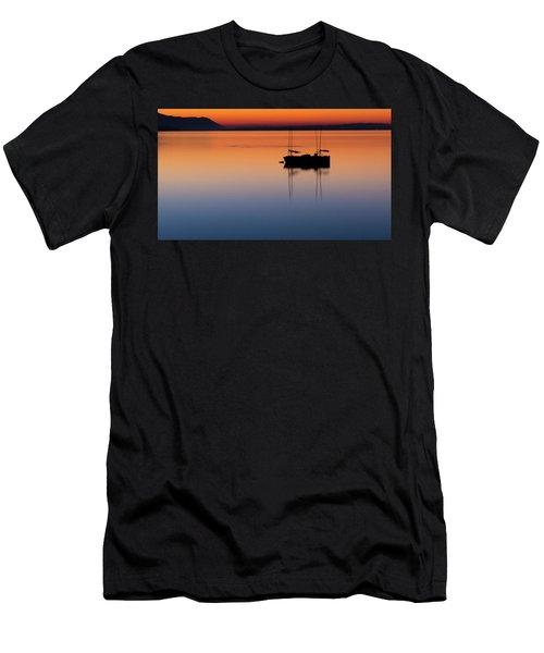 Samish Sea Sunset Men's T-Shirt (Athletic Fit)
