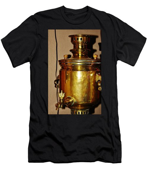 Men's T-Shirt (Athletic Fit) featuring the photograph Samovar by Vadim Levin