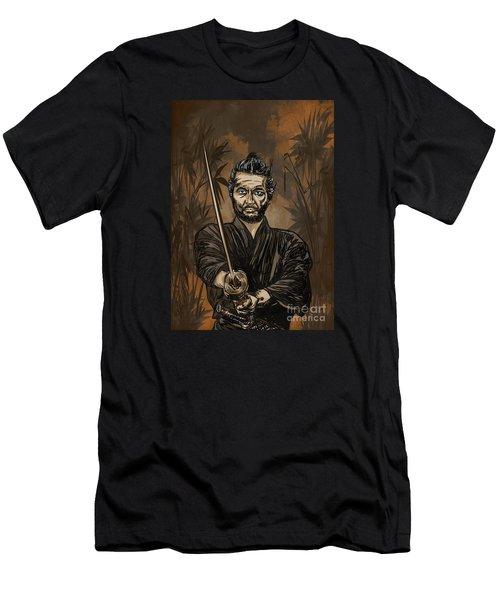 Samurai Warrior. Men's T-Shirt (Athletic Fit)
