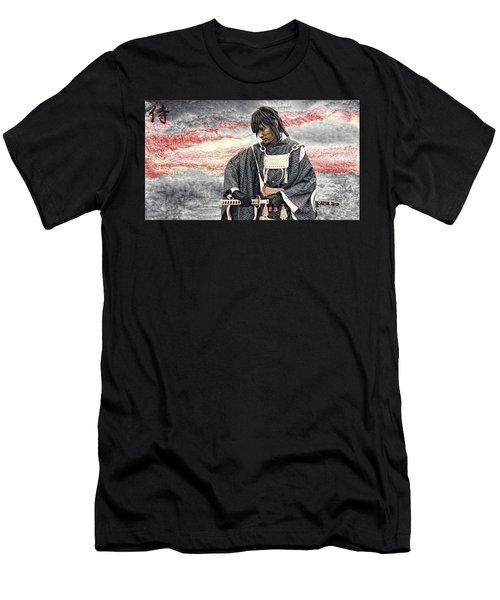 Samurai Warrior Men's T-Shirt (Athletic Fit)