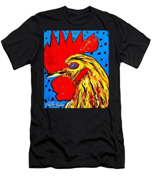 San Antonio Rooster Men's T-Shirt (Athletic Fit)