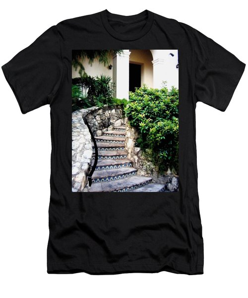 San Antonio Stairway Men's T-Shirt (Athletic Fit)