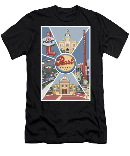 San Antonio's Pearl Men's T-Shirt (Athletic Fit)