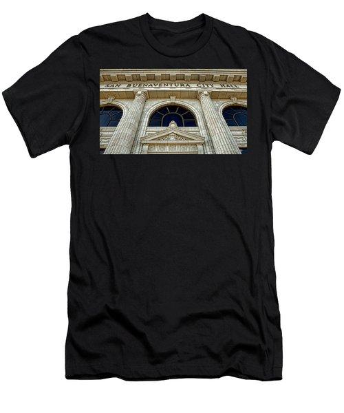 San Buenaventura City Hall Men's T-Shirt (Athletic Fit)