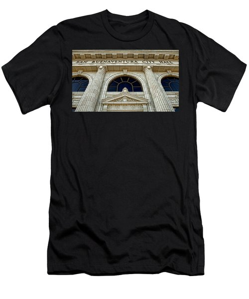 San Buenaventura City Hall Men's T-Shirt (Athletic Fit)