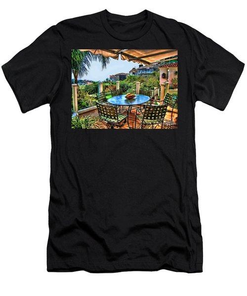 San Clemente Estate Patio Men's T-Shirt (Athletic Fit)