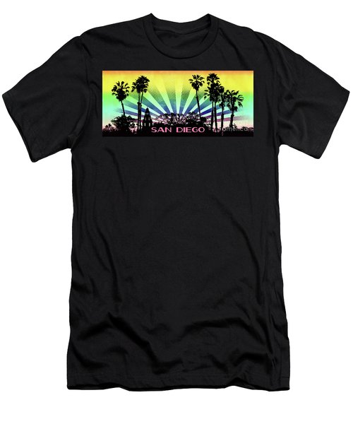 San Diego - Balboa Park Silhouette Men's T-Shirt (Athletic Fit)