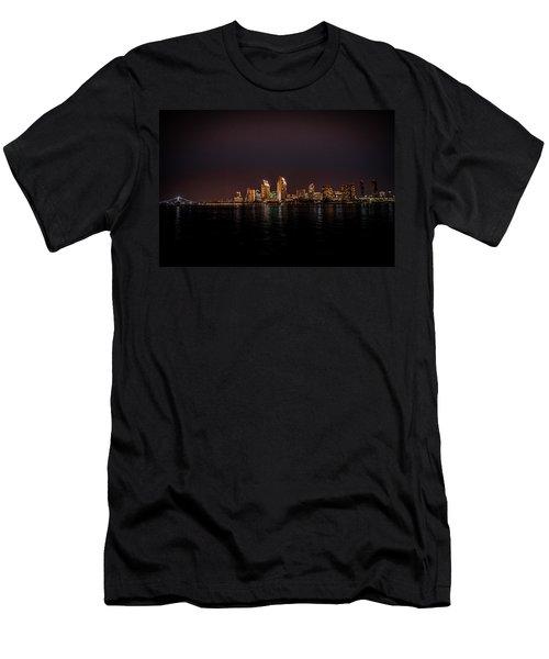 San Diego Harbor Men's T-Shirt (Athletic Fit)