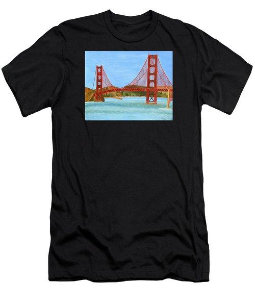 San Francisco Bridge  Men's T-Shirt (Athletic Fit)