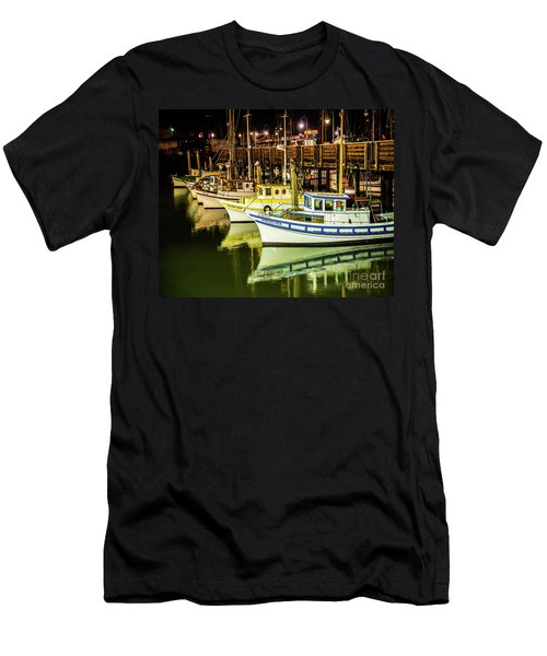 San Francisco Fisherman's Wharf Men's T-Shirt (Athletic Fit)