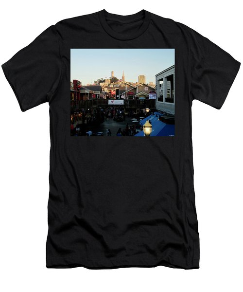 San Francisco In The Sun Men's T-Shirt (Athletic Fit)