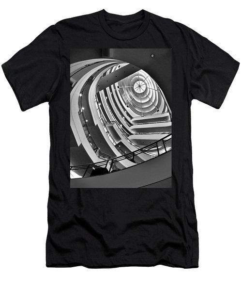 San Francisco - Nordstrom Department Store Architecture Men's T-Shirt (Athletic Fit)