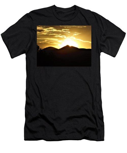 San Francisco Peaks At Sunset Men's T-Shirt (Athletic Fit)