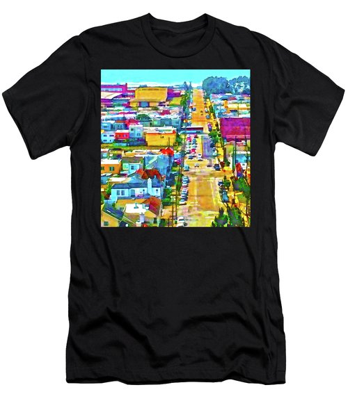 San Francisco Quintara View Men's T-Shirt (Athletic Fit)