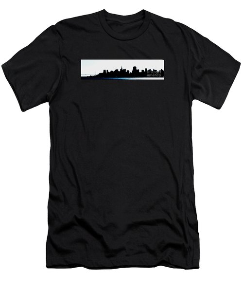 San Francisco Skyline Men's T-Shirt (Athletic Fit)