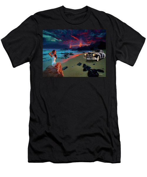 San Francisco Sunrise Men's T-Shirt (Athletic Fit)