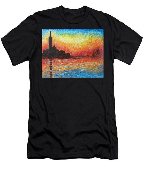 San Giorgio At Dusk Men's T-Shirt (Athletic Fit)