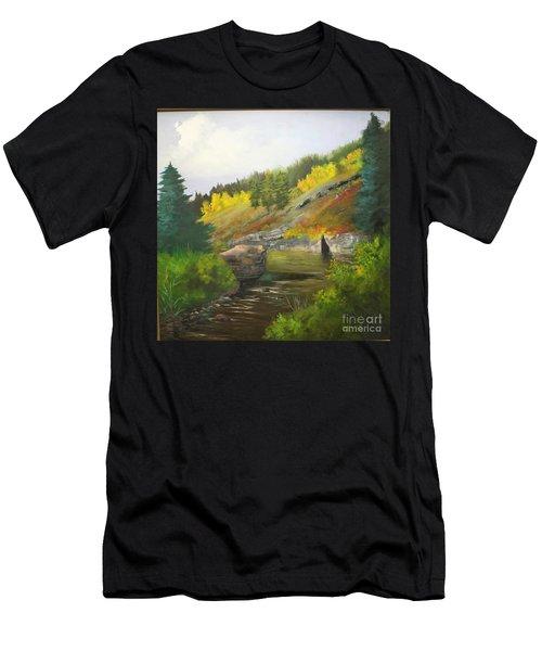 San Juan River Men's T-Shirt (Athletic Fit)