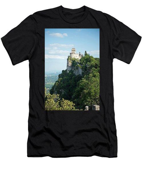 San Marino - Guaita Castle Fortress Men's T-Shirt (Athletic Fit)