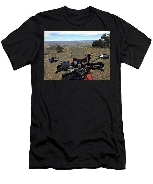 San Rafael Swell Above Orangeville Men's T-Shirt (Athletic Fit)
