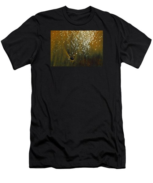Men's T-Shirt (Slim Fit) featuring the photograph Sand And Sun And Water 2  by Lyle Crump