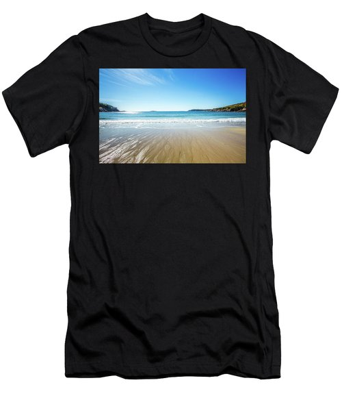 Sand Beach Men's T-Shirt (Athletic Fit)
