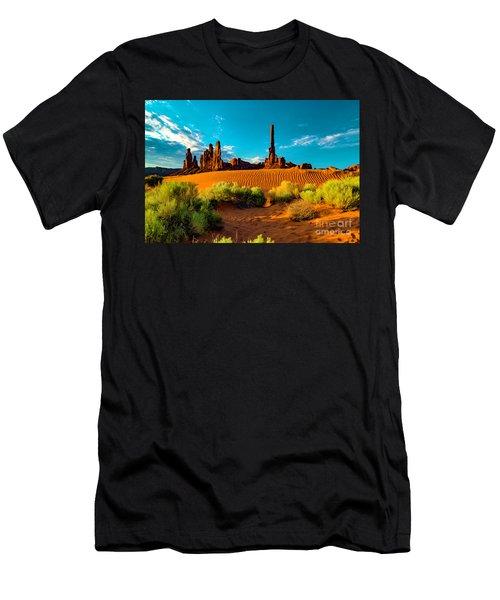 Sand Dune Men's T-Shirt (Athletic Fit)