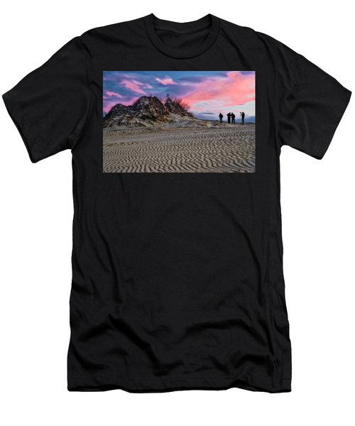 Sand Dunes Of Kitty Hawk Men's T-Shirt (Athletic Fit)