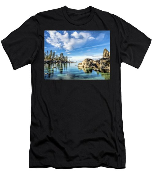 Sand Harbor Morning Men's T-Shirt (Athletic Fit)