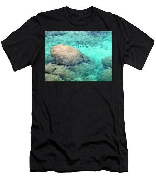 Sand Harbor Ripples Men's T-Shirt (Athletic Fit)